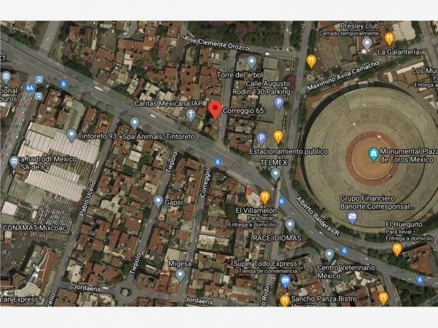 departamento en ciudad de los deportes mx20 jf0875