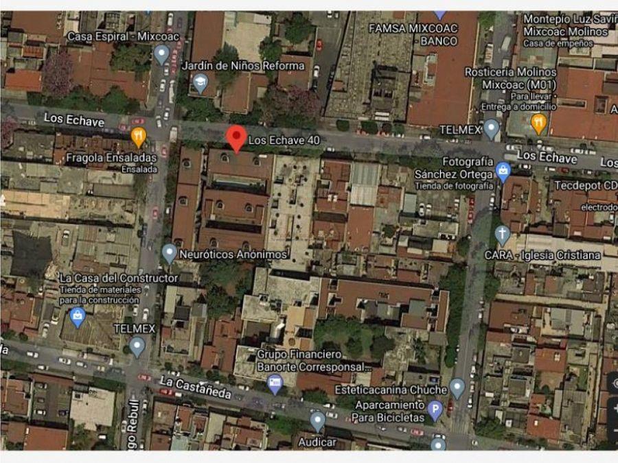 departamento en mixcoac mx20 je4876