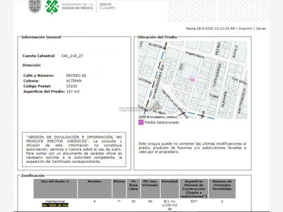 departamento en actipan mx20 ia9305