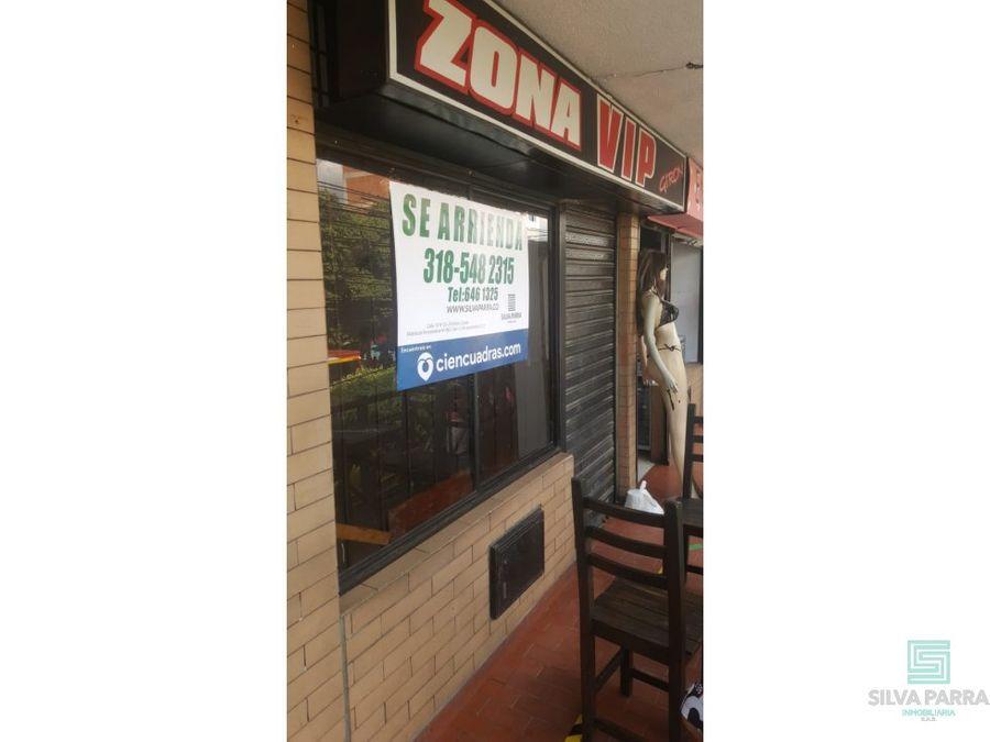 arriendo local centro comercial poblado plaza giron