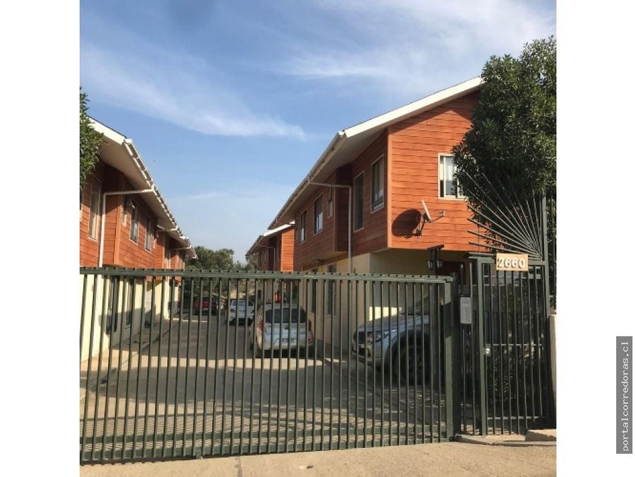quilpue venta condominio 7 casas 2 pisos 3d 3b 1of 1est