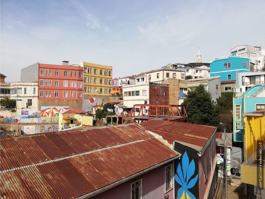 hermoso studio en barrio patrimonial valparaiso