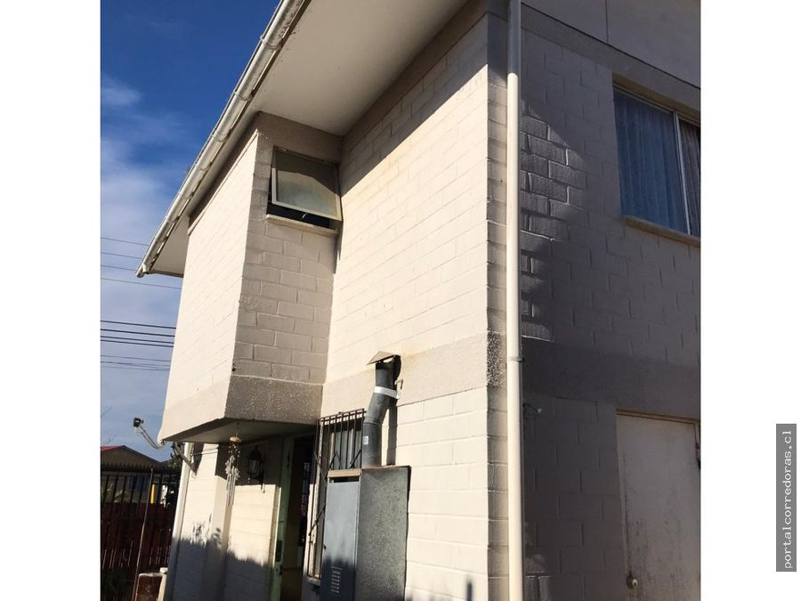 quilpue venta casa 2 pisos 2d 1b 3est patio
