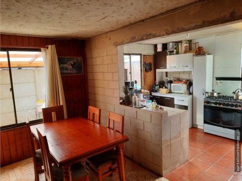 venta acogedora casa en concon