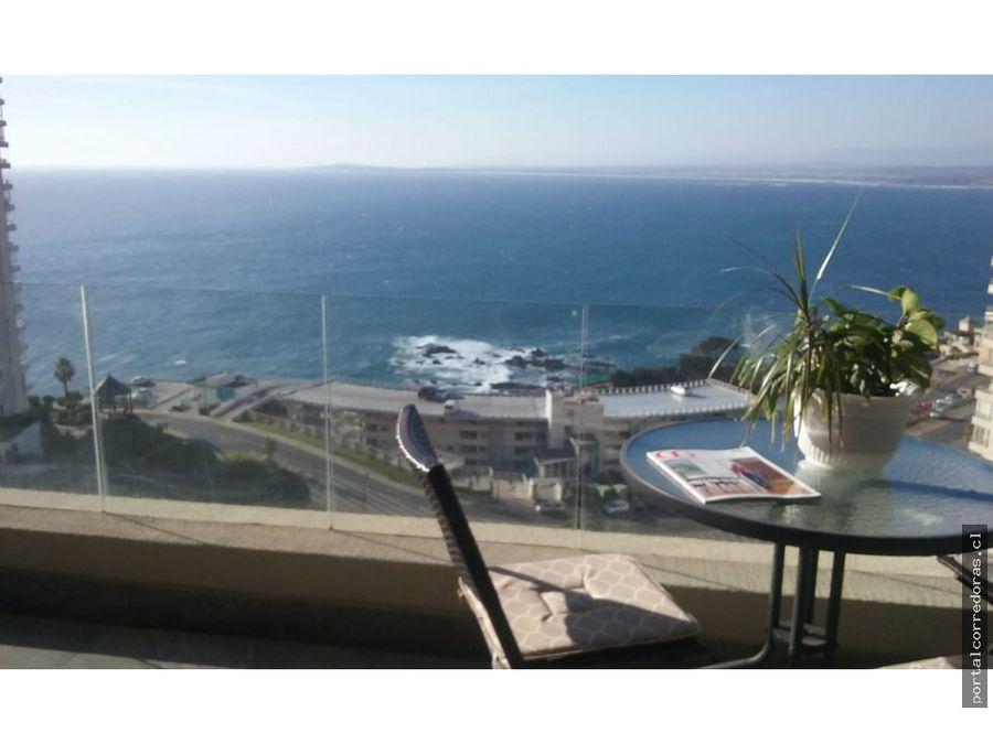 costa de montemar vista al mar
