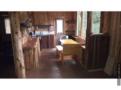 acogedora cabana en cochamo