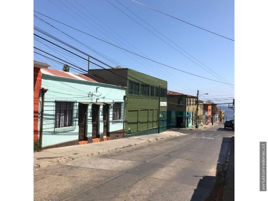 valpo venta 2 casas acceso indep cerro baron