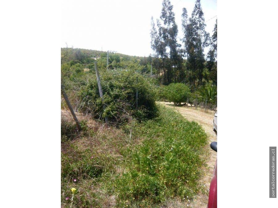 venta hermosas parcelas camino antiguo a valparaiso limache