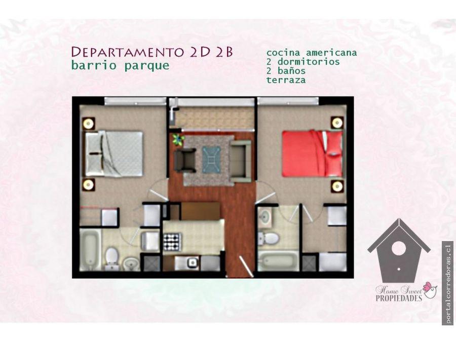 barrio parque gomez carreno 2d 2b 60m2