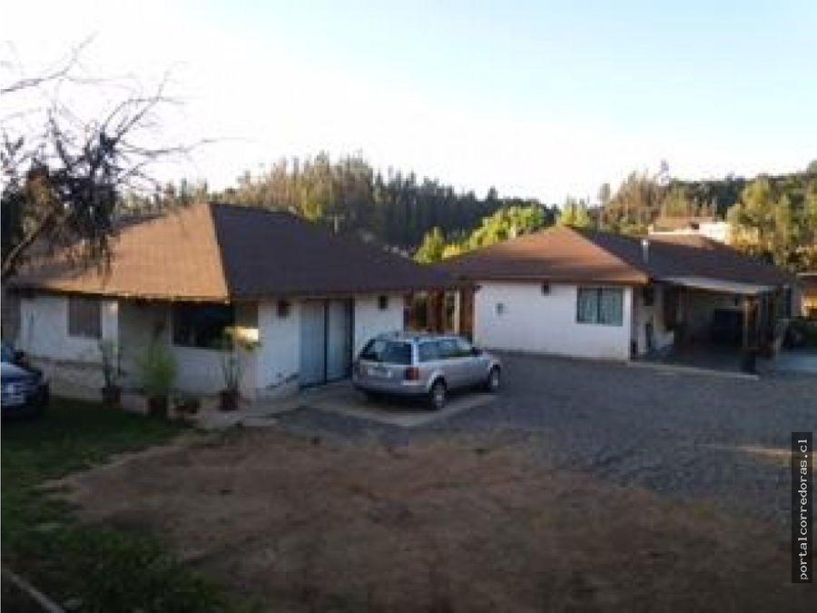 2 casas en parcela pitama