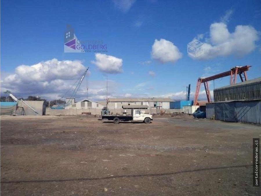 terreno industrial con galpon
