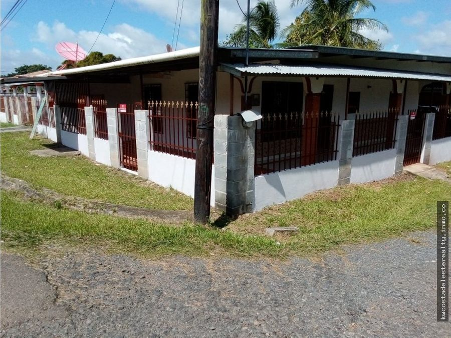 venta o alquiler de lote con 2 casas en el espino