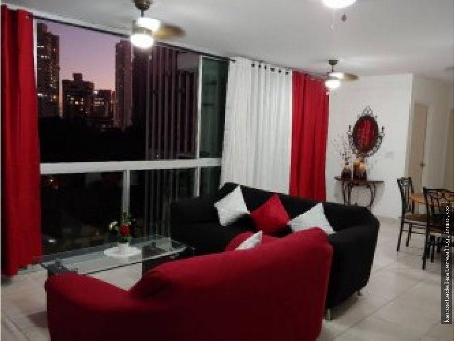 apartamento en alquiler amoblado bella vista