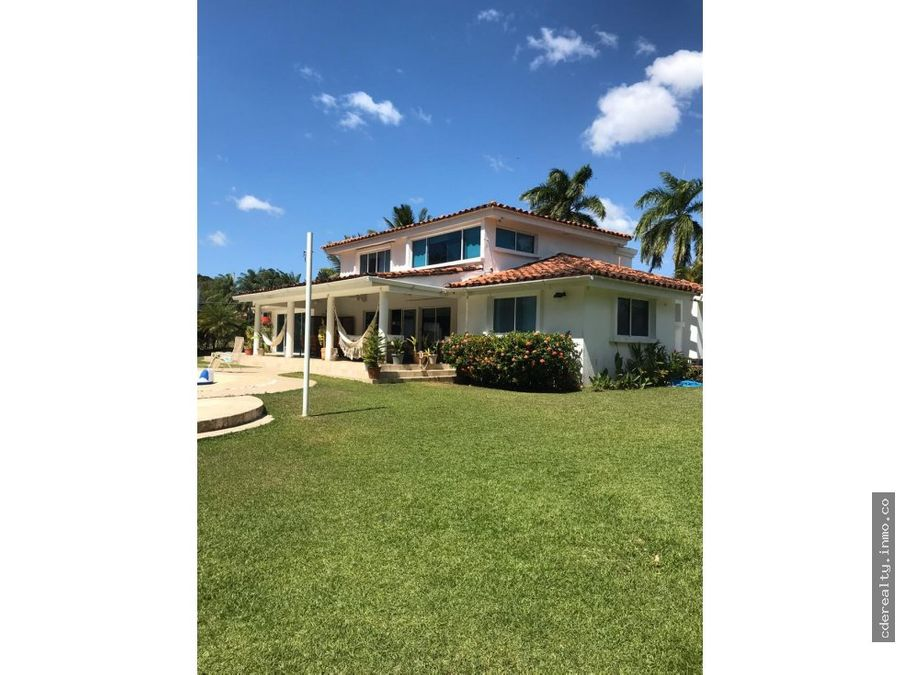 venta de hermosa casa en coronado golf