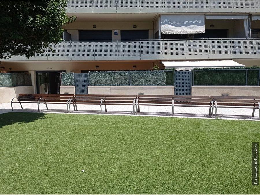 planta baja con terraza
