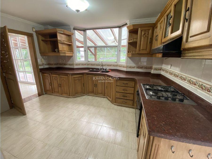 venta casa tipo campestre norte de armenia