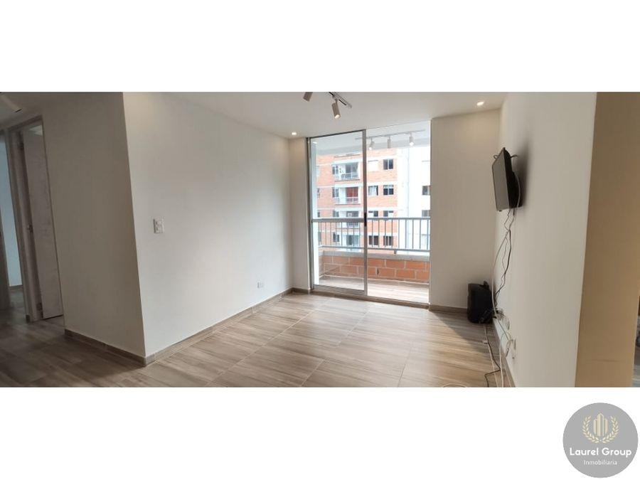 vendo apartamento como nuevo en sabaneta sector san jose