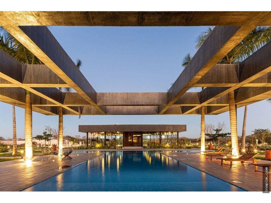 terrenos en privada yucatan con amenidades