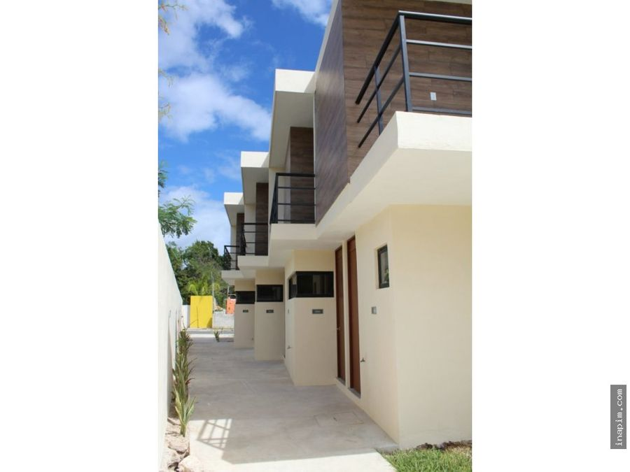 townhouses en venta al norte de merida