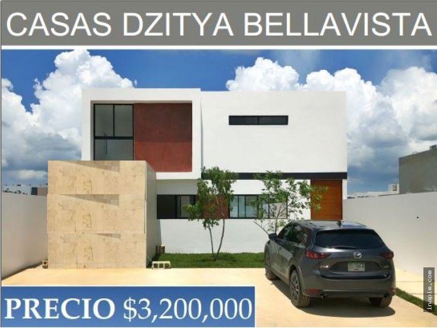 hermosas y espaciosas casas en dzitya