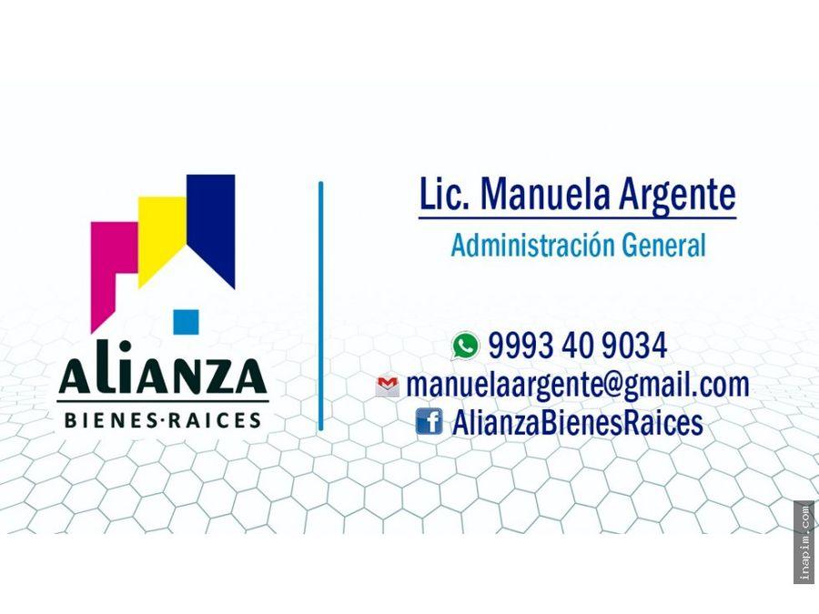 terreno en venta en cholul yucatan