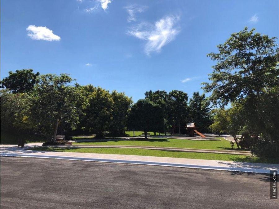 terreno en venta en privada residencial artisana temozon norte