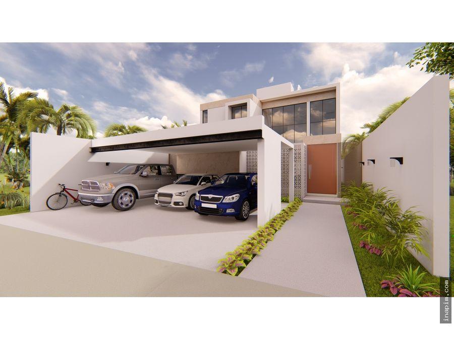 casa en venta en merida yuc