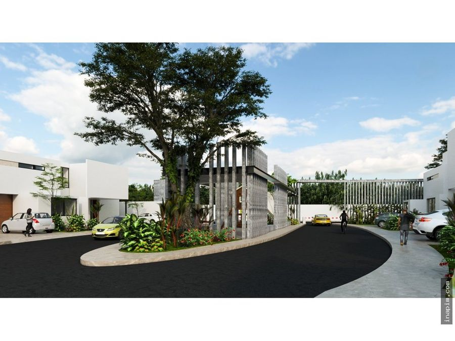 casa en privada residencial en conkal
