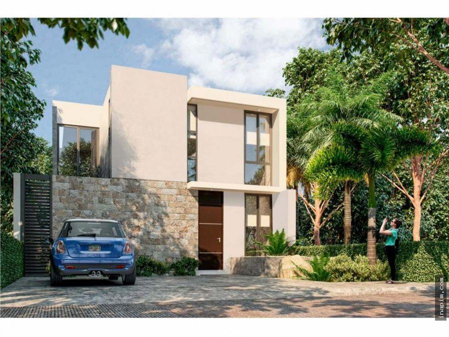 casa en venta en privada dzitya