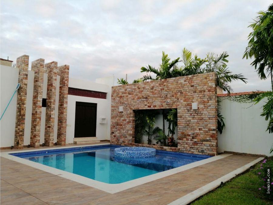 casa de 5 habit villas del sol residencia de un nivel