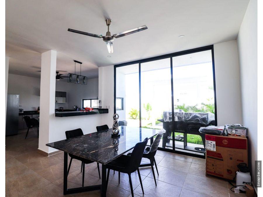 leandro valle casa nueva lista para ocupar en venta en merida