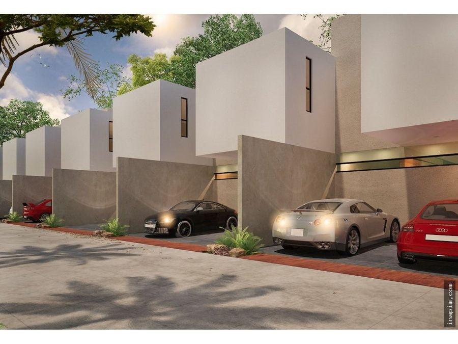 townhouses en privada residencial