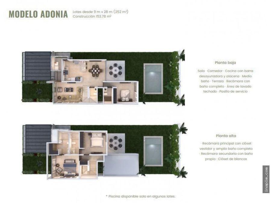 casa en privada de dzitya en venta