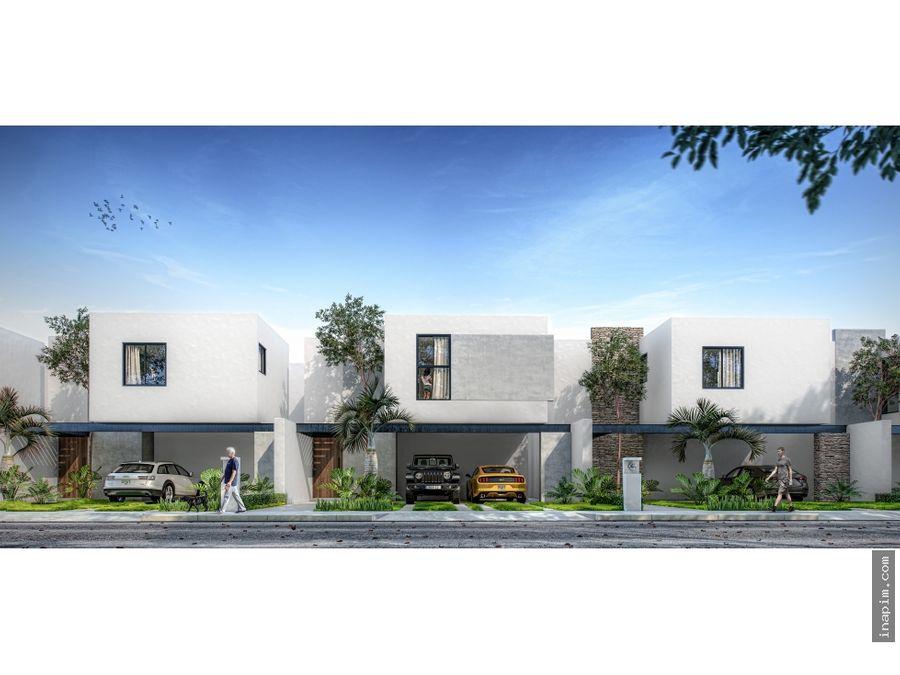 casa pamina en residencial praderas del mayab