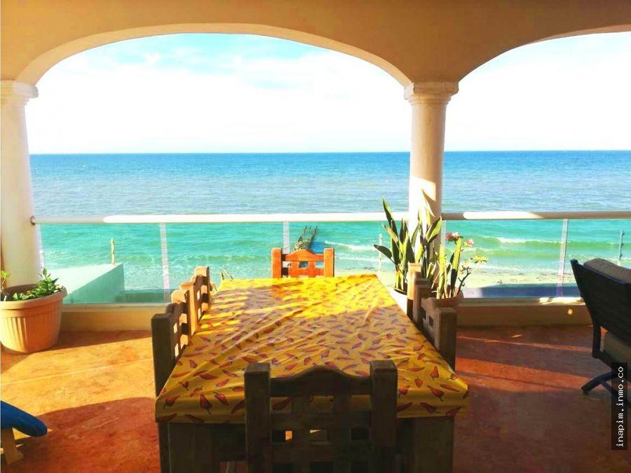 casa la terraza con hermosa vista al mar