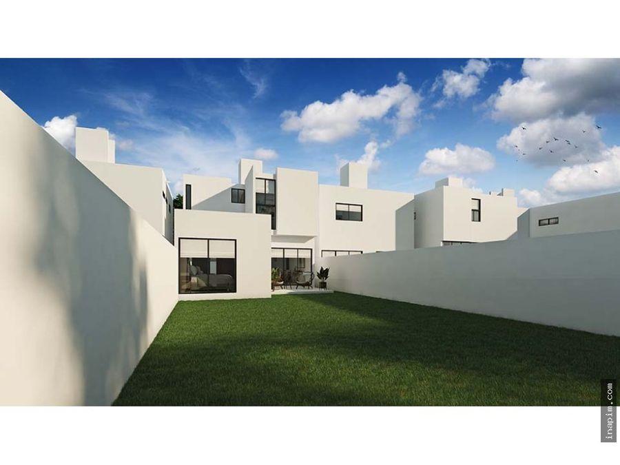 casa nueva en privada zensia modd merida yuc