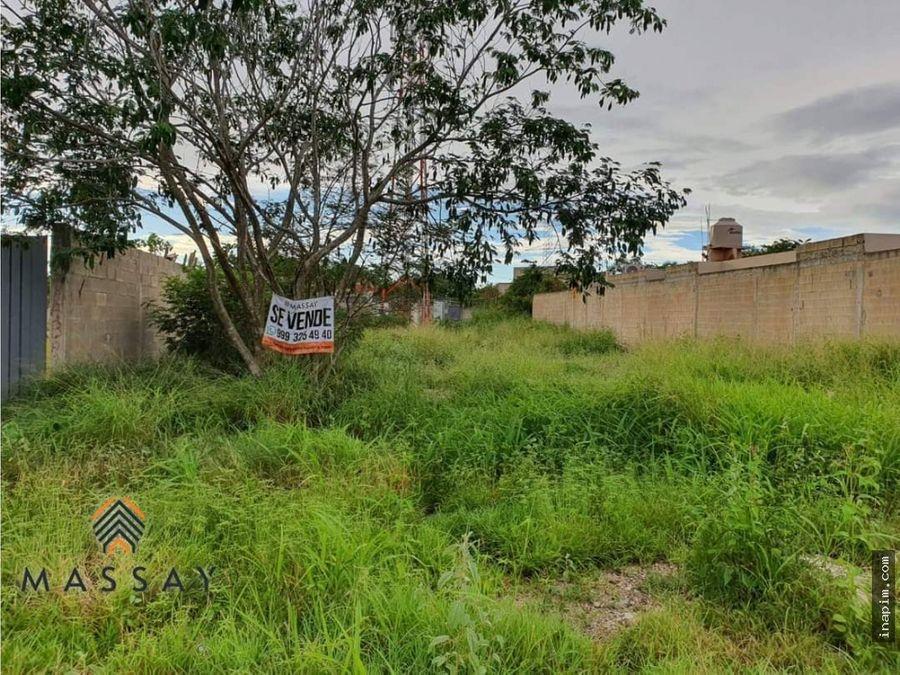 terreno en venta en temozon norte de meridayuc