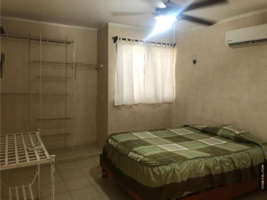 casa amueblada en renta en caucel 3500 cr a1