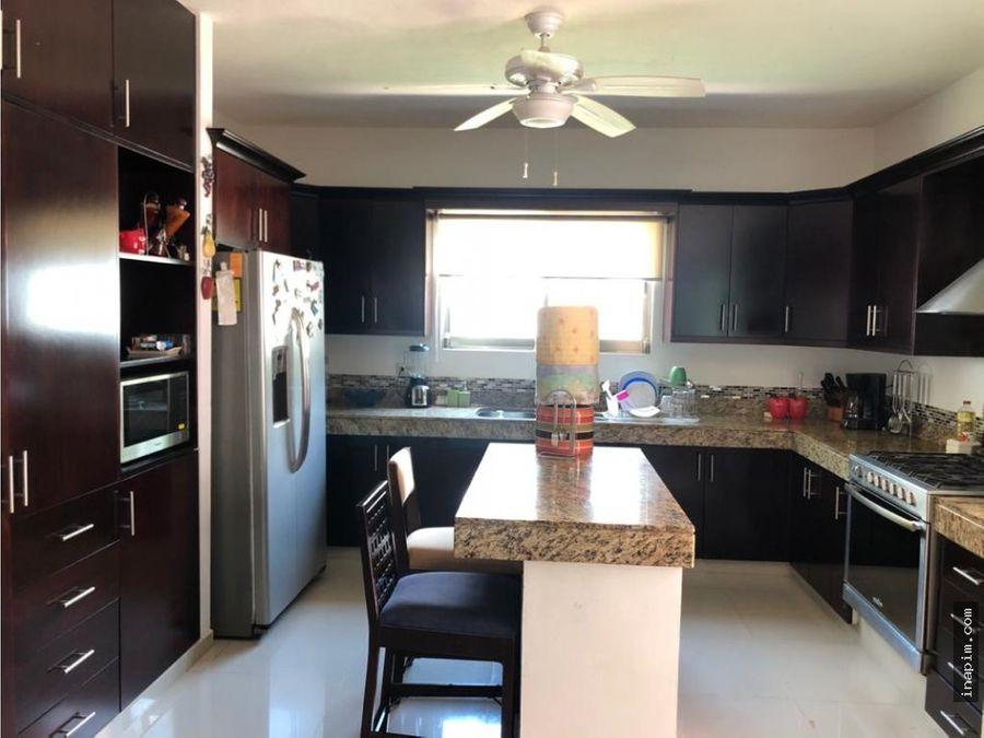 casa en renta amueblada en margaritas cholul