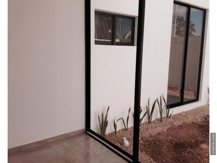 venta de bella casa en cholul merida