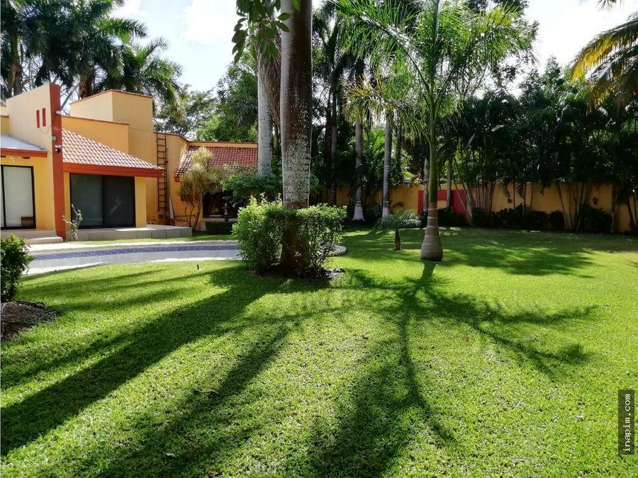 venta casa una planta en club de golf la ceiba