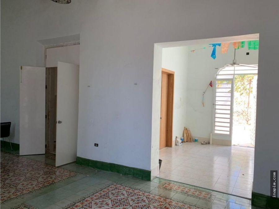 casa colonial en el centro de merida en venta