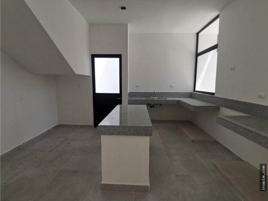 casa en venta en cholul de 3 recamaras