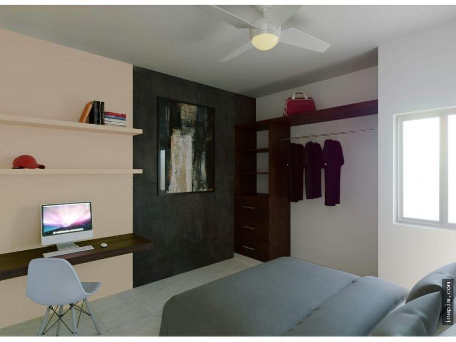 nid townhouses minimalistas en dzitya