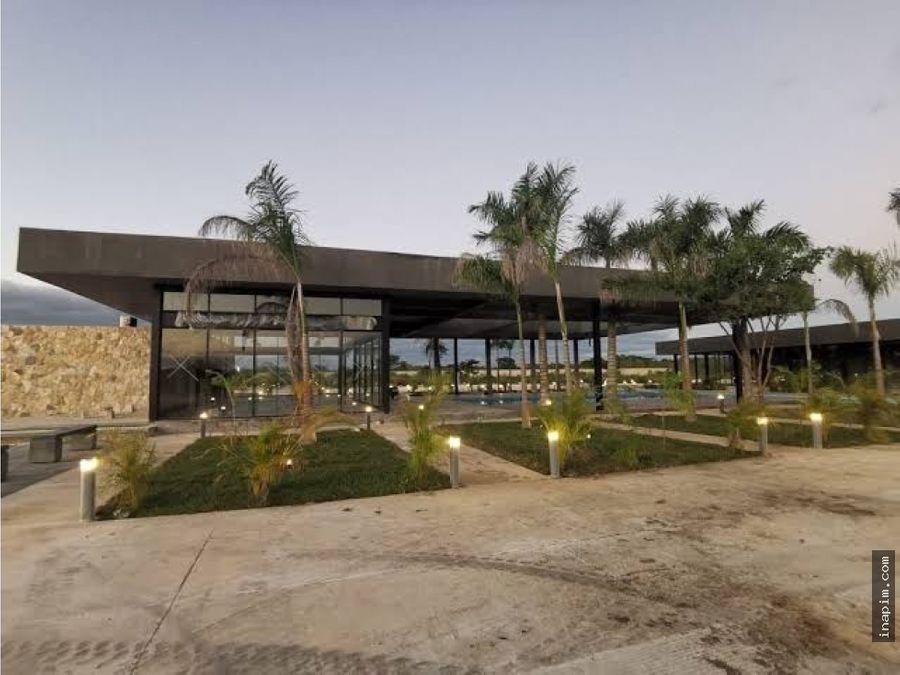 venta de terreno en privada tamora conkal en oferta