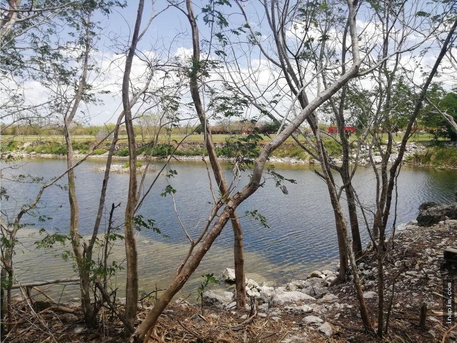 venta terreno merida en el club de polo vista cenote