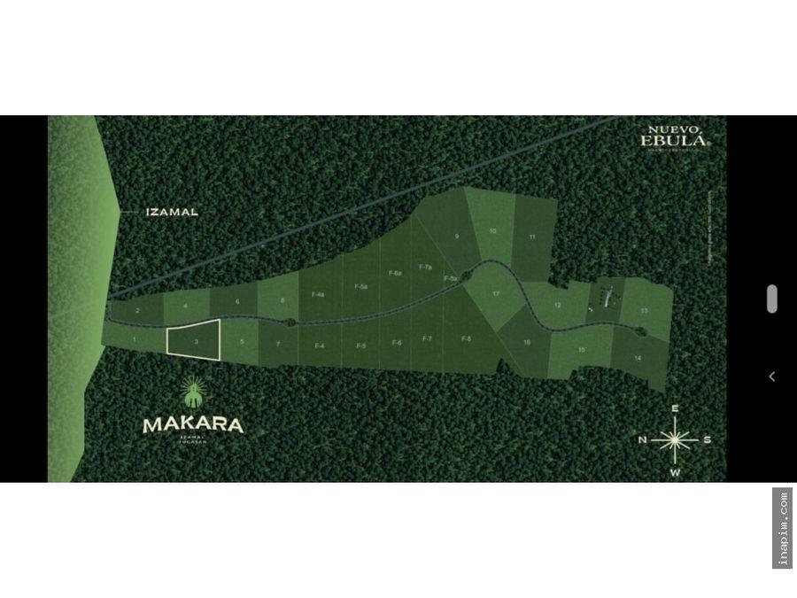 makara cluster semiurbanizado en izamal yucatan