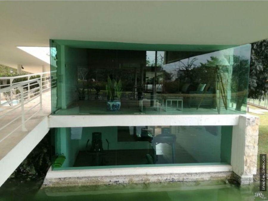 casa en venta priv punta lago cabonorte temozon