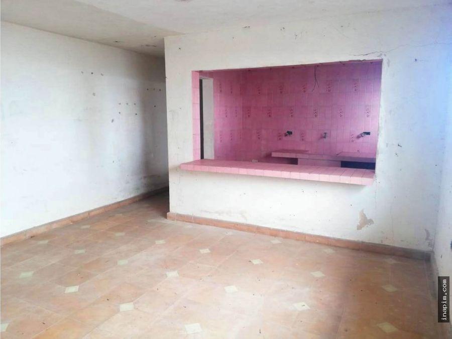 casa para restaurar frente al mar de telchac