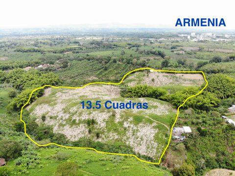 venta de finca en armenia 135 cuadras